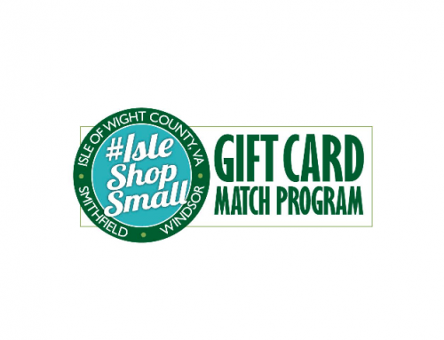 Isle of Wight County Announces #IsleShopSmall Gift Certificate Program with $100K of CARES ACT funding